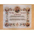 Certyfikat pamiątka sakramentu Małżeństwa