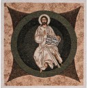 Obraz tkany arazzo pantocrate (nel cerchio)